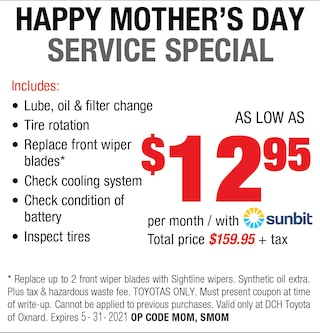 Happy Mother's Day Service Special