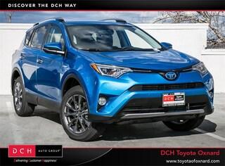 New 2018 Toyota RAV4 Hybrid Limited SUV