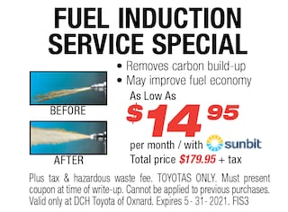 Fuel Induction Service Special