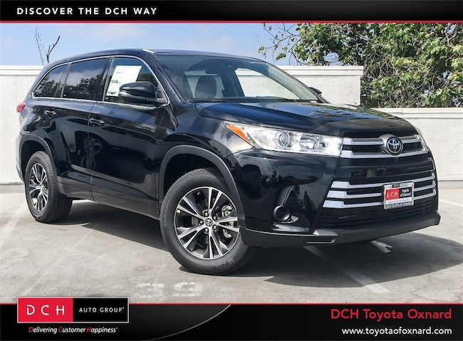 New 2019 Toyota Highlander Le I4 Suv Midnight Black For Sale In New