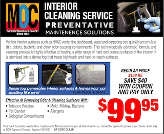 Interior Cleaning Service