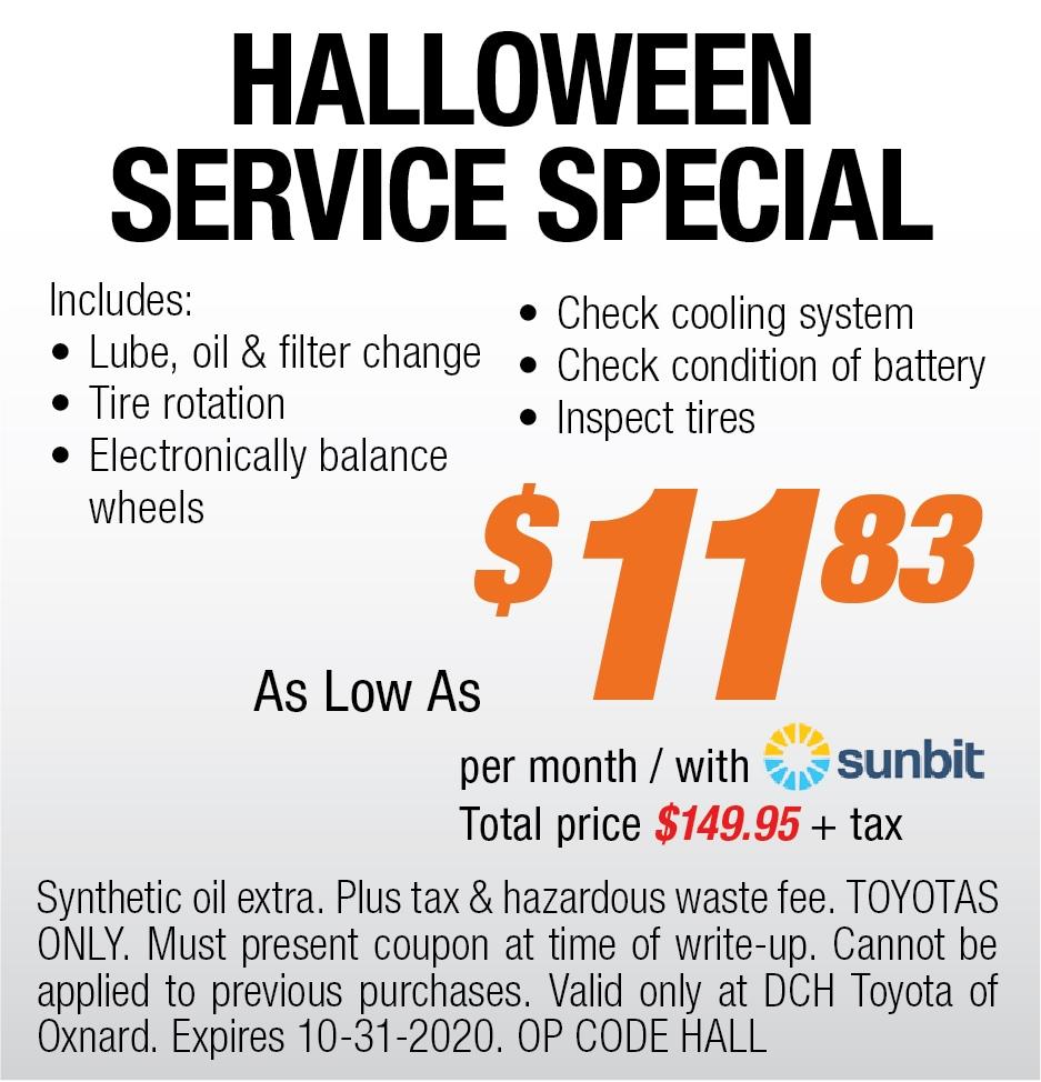 Halloween Service Special