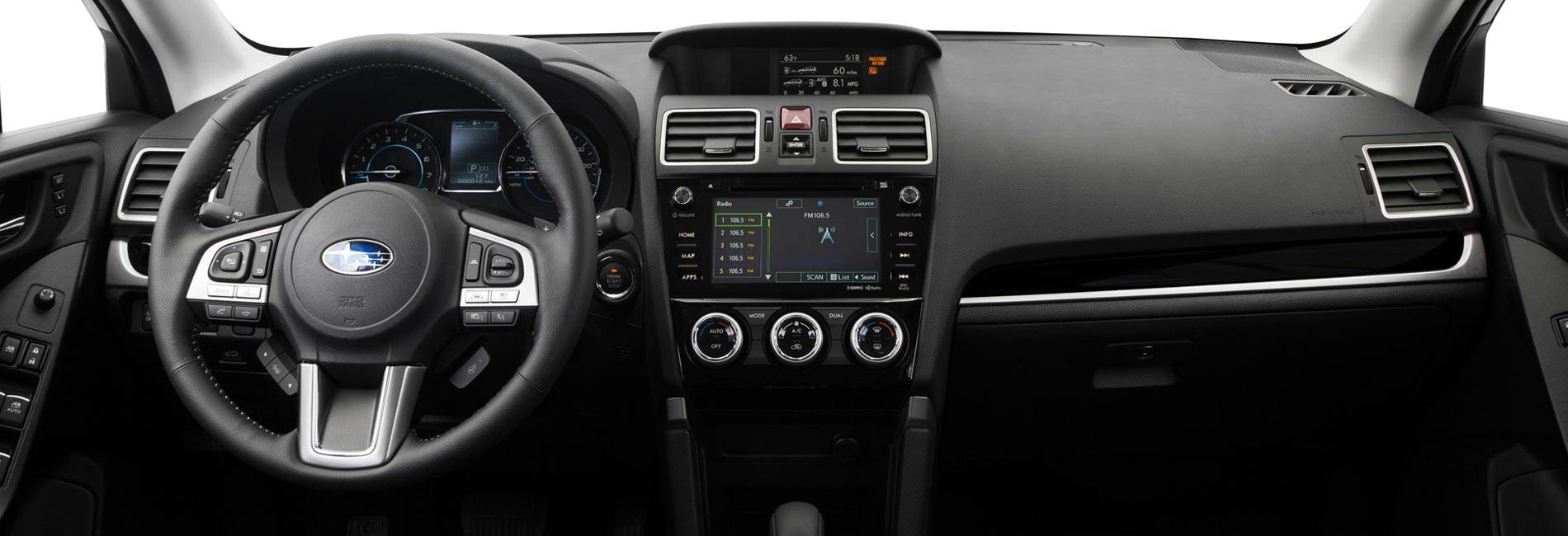Subaru Forester Interior Vehicle Features