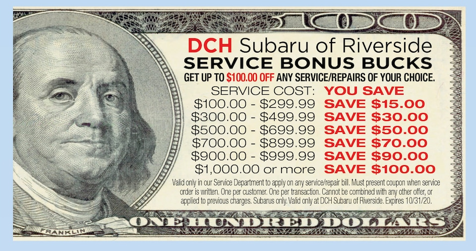 Service Bonus Bucks