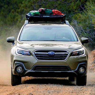 Subaru Outback Raised Roof Rails