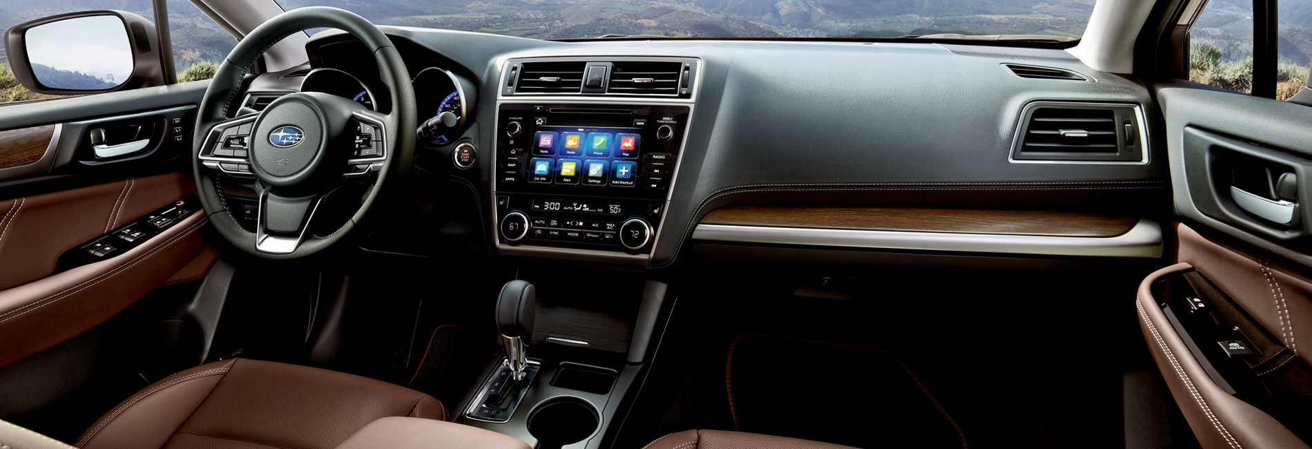 Subaru Outback Interior Vehicle Features