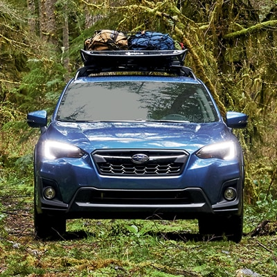 Subaru Crosstrek Integrated Roof Rails