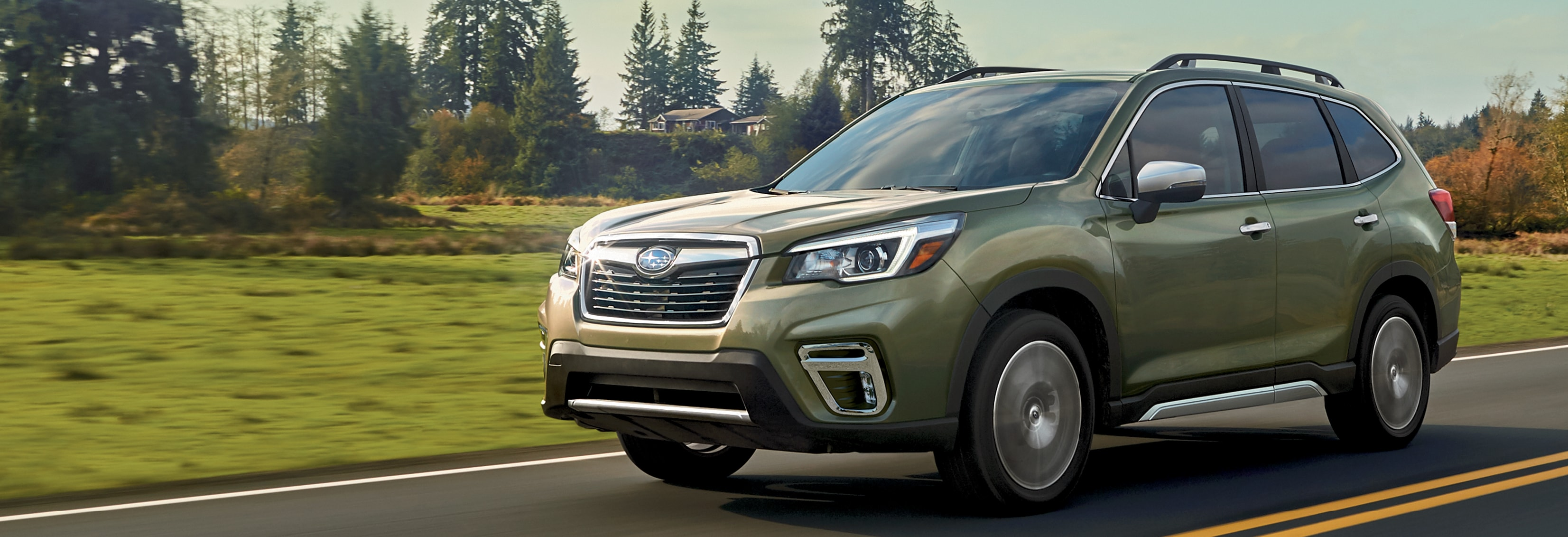 Subaru Forester Exterior Vehicle Features