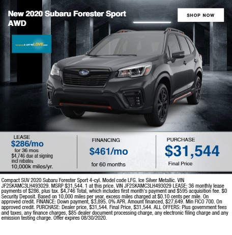 2020 Subaru Forester Sport AWD