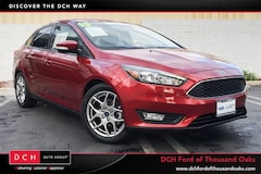Certified Pre-Owned 2015 Ford Focus SE Sedan in Thousand Oaks, CA