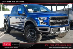 Certified Pre-Owned 2018 Ford F-150 Raptor Truck SuperCrew Cab in Thousand Oaks, CA