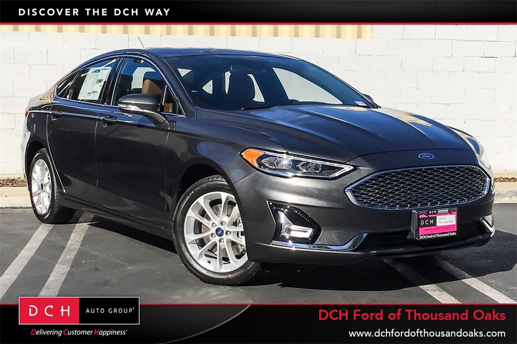 New 2019 Ford Fusion SEL Sedan Agate Black For Sale in