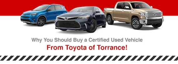 Certified Used Toyota >> Certified Used Toyota Models Toyota Sales Near Los Angeles Ca