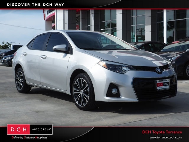 New 2015 Toyota Corolla S Plus Sedan Torrance, CA