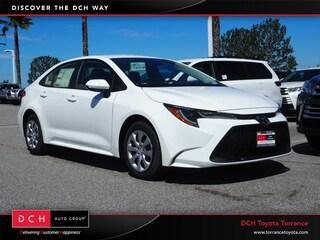New 2020 Toyota Corolla LE Sedan Torrance, CA