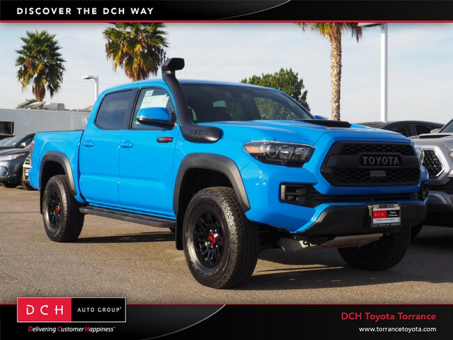 New 2019 Toyota Tacoma Trd Pro Truck Double Cab Voodoo Blue For Sale