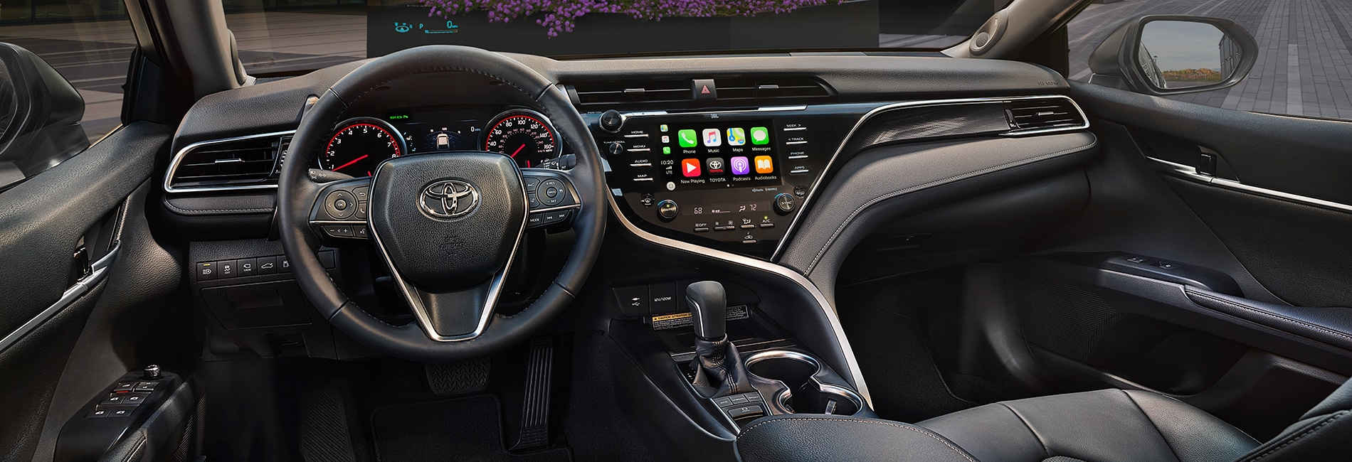 Toyota Camry Interior Vehicle Features