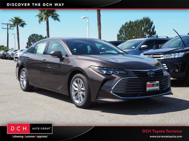 New 2019 Toyota Avalon Xle Sedan Brownstone For Sale In Torrance Ca