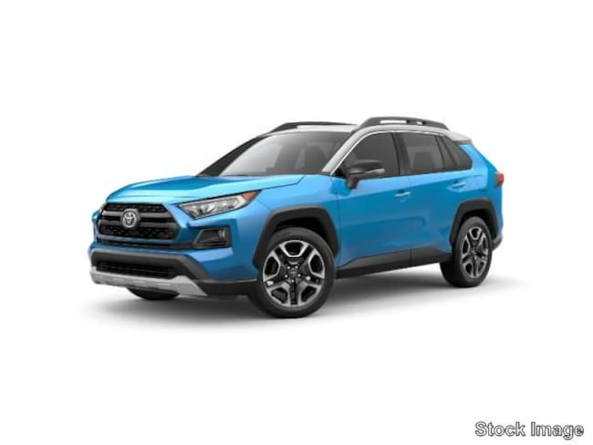 New 2019 Toyota Rav4 Adventure Suv Ruby Flare Pearl For Sale In