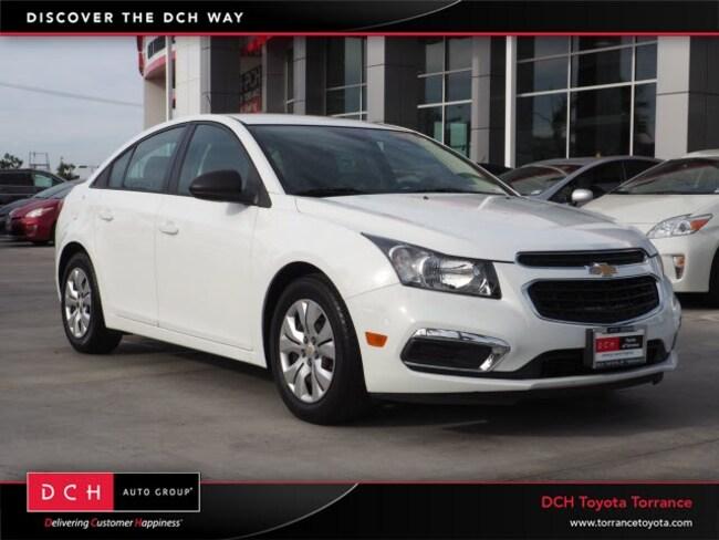 Used 2016 Chevrolet Cruze Limited LS Sedan Torrance, CA