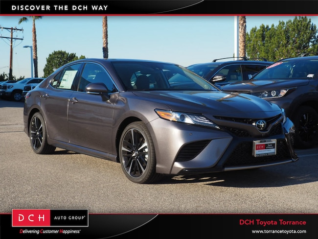 New 2019 Toyota Camry Xse V6 Sedan Predawn Gray Mica For Sale In