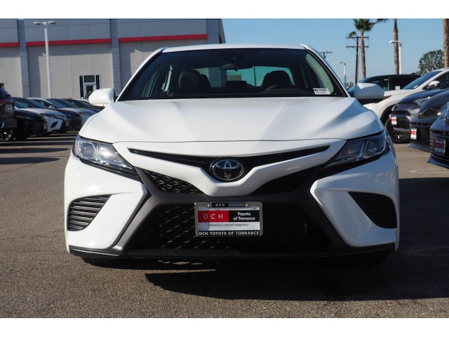 New 2019 Toyota Camry SE Sedan Super White For Sale in