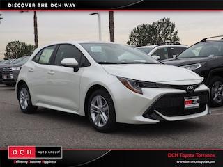 New 2019 Toyota Corolla Hatchback SE Hatchback Torrance, CA