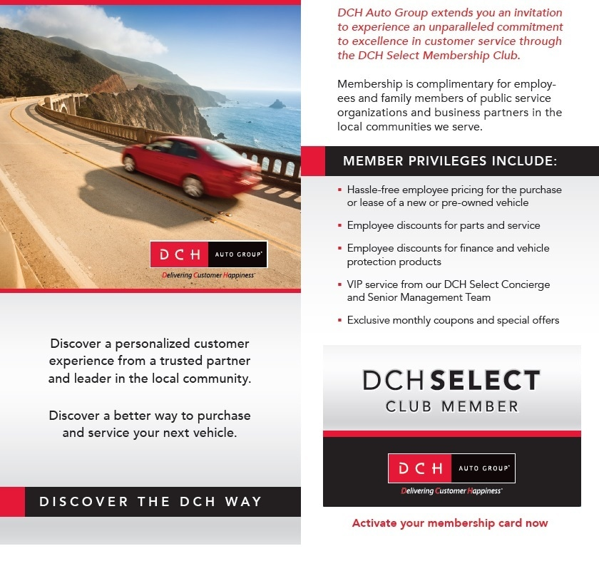 DCH SELECT MEMBERSHIP CLUB | DCH Toyota of Torrance