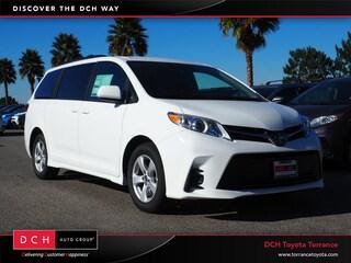 New 2019 Toyota Sienna LE Van Torrance, CA
