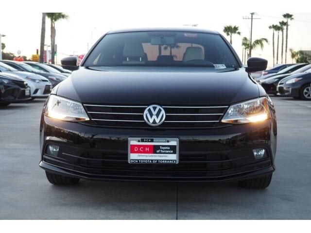 Used 2016 Volkswagen Jetta Sedan 1 8T Sport Black For Sale