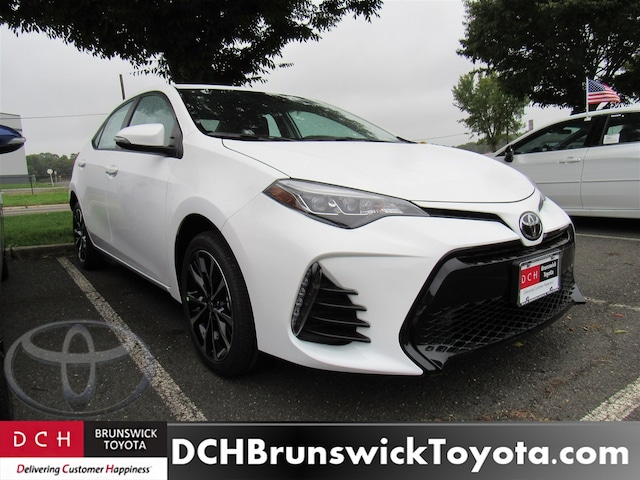 New 2019 Toyota Corolla Sedan Super White For Sale In North