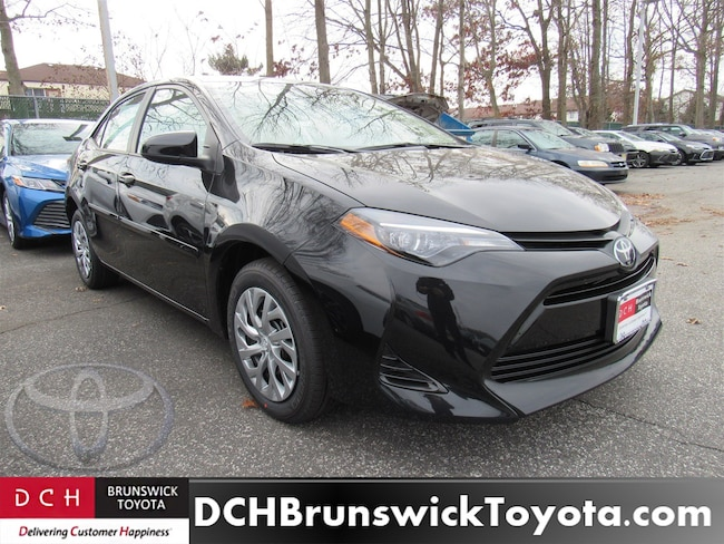 New 2019 Toyota Corolla Sedan Le Black Sand Pearl For Sale Medford