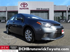 Used Toyota Corolla 2016 Toyota Corolla LE Sedan For Sale in North Brunswick