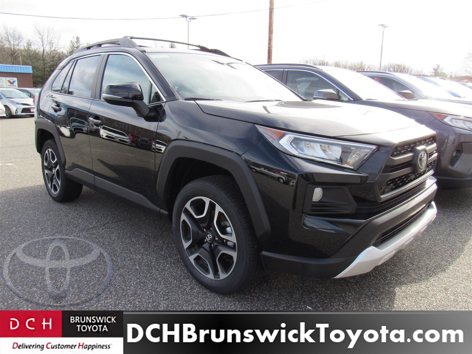New 2019 Toyota Rav4 Suv Midnight Black For Sale In North Brunswick