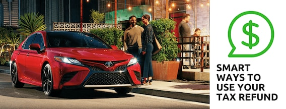 How To Use Your Tax Refund Toward A New Vehicle Dch Brunswick Toyota