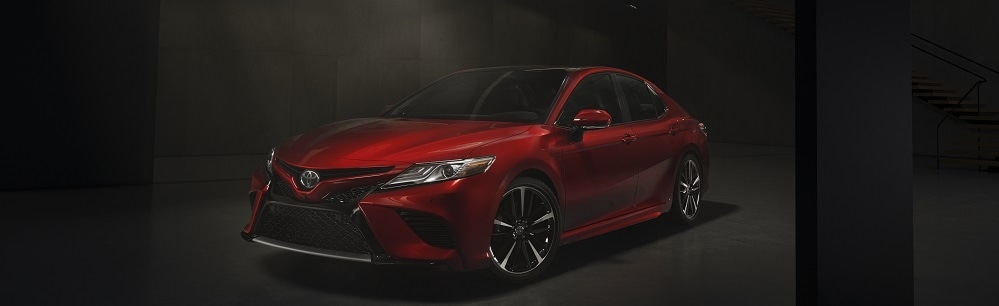 2018 Toyota Camry - Exterior Front Left Angle - DCH Freehold Toyota.jpg
