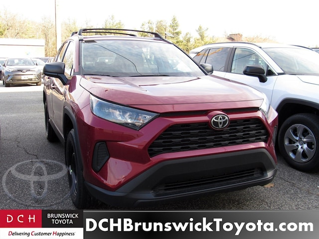 New 2019 Toyota Rav4 Suv Ruby Flare Pearl For Sale In North