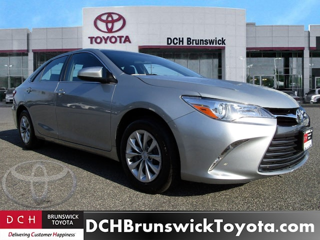 Used 2016 Toyota Camry Sedan Le For Sale In North Brunswick Township