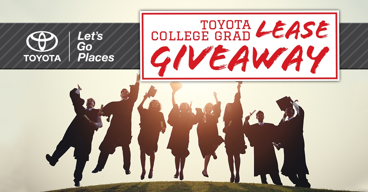 Test Drive & Win a 3-Year Lease - College Grad Rebate ...