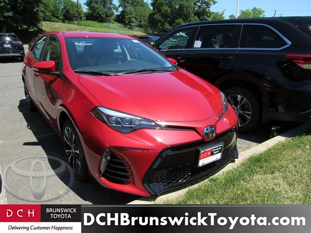 New 2019 Toyota Corolla Sedan Barcelona Red For Sale In North