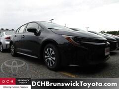 New 2020 Toyota Corolla Hybrid LE Sedan North Brunswick NJ