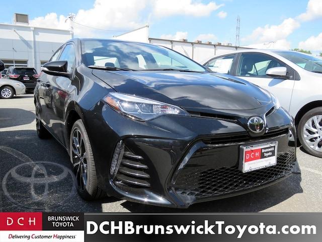 New 2019 Toyota Corolla Sedan Black Sand Pearl For Sale In North
