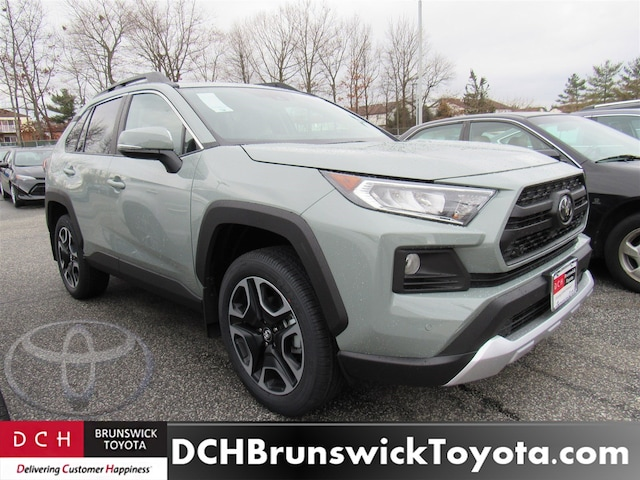 New 2019 Toyota Rav4 Suv Lunar Rock For Sale In North Brunswick Nj