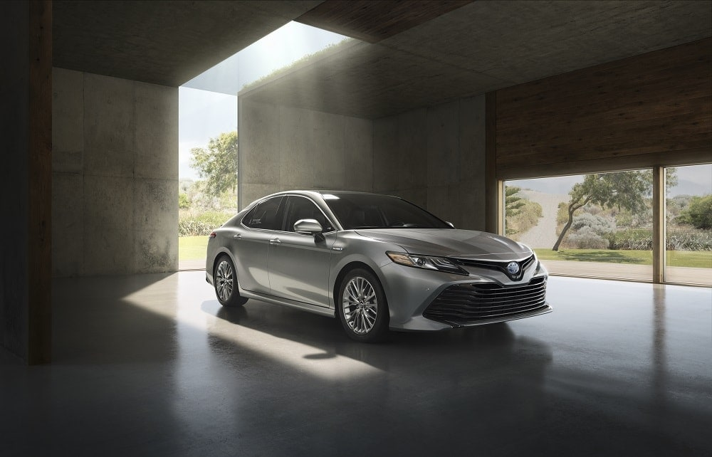 2018 Toyota Camry - Exterior Front Right Angle - DCH Freehold Toyota