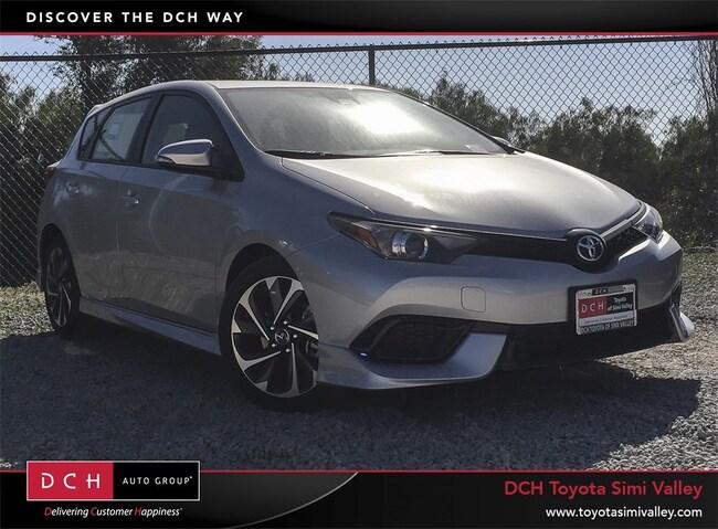 New 2018 Toyota Corolla iM Base Hatchback