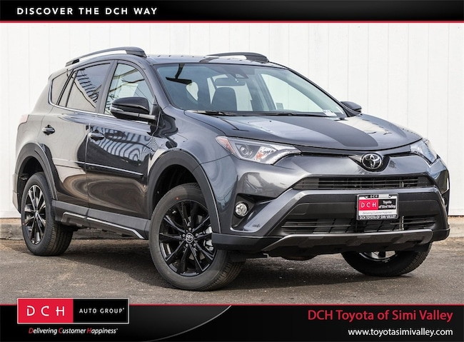 New 2018 Toyota Rav4 Adventure Suv Magnetic Gray Metallic For Sale