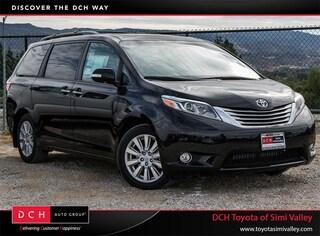 New 2017 Toyota Sienna Limited Premium 7 Passenger Van Passenger Van