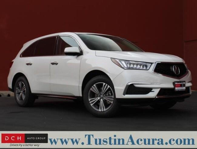 New 2019 Acura MDX Base SUV Tustin