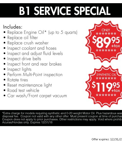 Acura Service Specials Orange County Oil Changes Tire Rotations - Acura oil change coupons