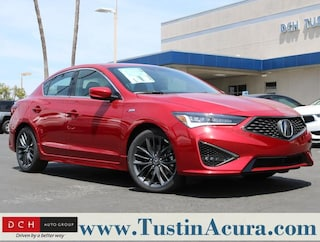 New 2019 Acura ILX with Premium and A-Spec Package Sedan Tustin, CA